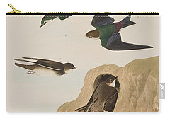 Bank Swallows Carry-all Pouch by John James Audubon