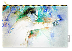 Barack Obama Pointing At You Carry-all Pouch by Miki De Goodaboom