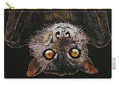 Bat Carry-all Pouch by Michael Creese