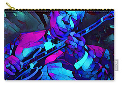 Bb Sings The Blues Carry-all Pouch by Dan Sproul