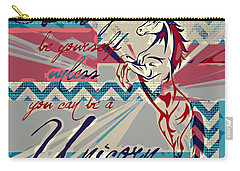 Be A Unicorn 1 Carry-all Pouch by Brandi Fitzgerald