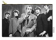 Beatles And Ed Sullivan Carry-all Pouch by Granger