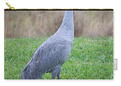 Beautiful Sandhill Crane Carry-all Pouch by Carol Groenen