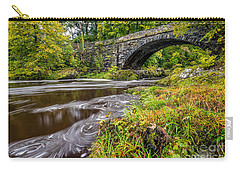 Beaver Bridge Carry-all Pouch by Adrian Evans