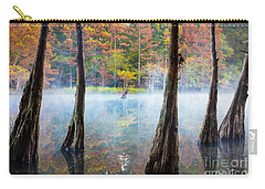 Beavers Bend Cypress Grove Carry-all Pouch by Inge Johnsson