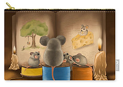 Bedtime Story Carry-all Pouch by Veronica Minozzi