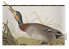 Bemaculated Duck Carry-all Pouch by John James Audubon