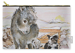 Best Friends Carry-all Pouch by Diane Matthes