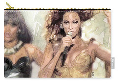 Beyonce 9 Carry-all Pouch by Jani Heinonen