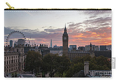 Big Ben London Sunrise Carry-all Pouch by Mike Reid