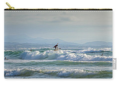 Carry-all Pouch featuring the photograph Big Surf Invitational I by Thierry Bouriat