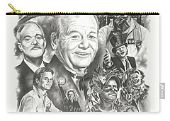 Bill Murray Carry-all Pouch by James Rodgers