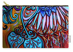 Bird Heart II Carry-all Pouch by Genevieve Esson