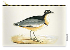 Black Headed Plover Carry-all Pouch by English School