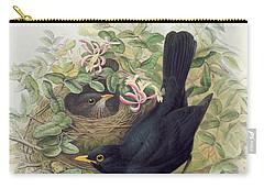 Blackbird,  Carry-all Pouch by John Gould