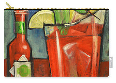 Bloody Mary Carry-all Pouch by Tim Nyberg