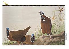 Blue Headed Pigeon Carry-all Pouch by John James Audubon