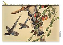 Blue Magpie, Urocissa Magnirostris Carry-all Pouch by John Gould