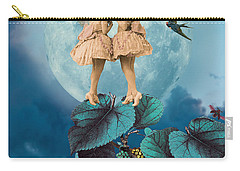 Blue Moon Carry-all Pouch by Olga Snell