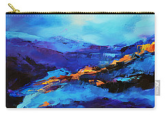 Blue Shades Carry-all Pouch by Elise Palmigiani