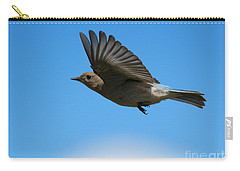 Bluebird Glide Carry-all Pouch by Mike Dawson