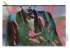 Bob Dylan Modern Etching Art Poster Carry-all Pouch by Kim Wang