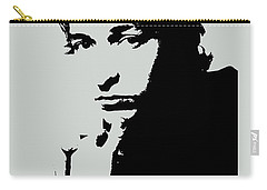 Bob Dylan Poster Print Quote - The Times They Are A Changin Carry-all Pouch by Beautify My Walls