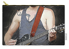 Bon Iver Carry-all Pouch by Semih Yurdabak