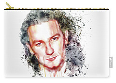 Bono Vox Carry-all Pouch by Marian Voicu