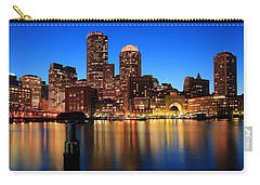Boston Aglow Carry-all Pouch by Rick Berk