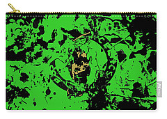 Boston Celtics 1b Carry-all Pouch by Brian Reaves