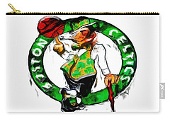 Boston Celtics 2b Carry-all Pouch by Brian Reaves