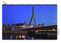 Boston Garden And Zakim Bridge Carry-all Pouch by Rick Berk