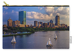 Boston Skyline Carry-all Pouch by Rick Berk
