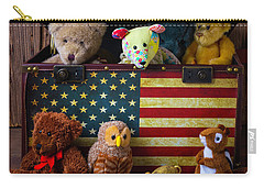 Box Full Of Bears Carry-all Pouch by Garry Gay