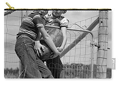 Boys Stealing A Watermelon, C.1950s Carry-all Pouch by H. Armstrong Roberts/ClassicStock