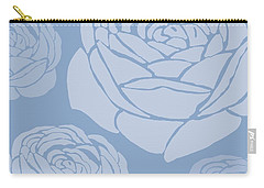 Brandon Rose Carry-all Pouch by Sarah Hough
