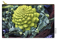 Brassica Oleracea Carry-all Pouch by Heather Applegate
