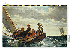 Breezing Up Carry-all Pouch by Winslow Homer