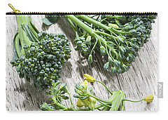 Broccoli Florets Carry-all Pouch by Elena Elisseeva