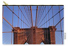 Brooklyn Bridge Carry-all Pouch by Brooklyn Bridge