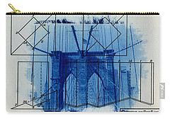 Brooklyn Bridge Carry-all Pouch by Jane Linders