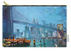 Brooklyn Bridge Carry-all Pouch by Ylli Haruni
