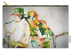 Bruce And The Big Man Carry-all Pouch by Dan Sproul