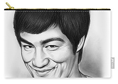 Bruce Lee Carry-all Pouch by Greg Joens