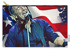 Bruce Springsteen Carry-all Pouch by Afterdarkness