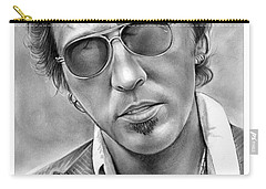 Bruce Springsteen Carry-all Pouch by Greg Joens