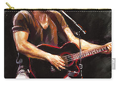 Bruce Springsteen  Carry-all Pouch by Ylli Haruni