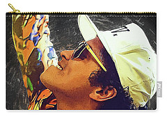 Bruno Mars Carry-all Pouch by Semih Yurdabak