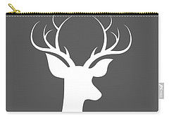 Buck Deer Carry-all Pouch by Chastity Hoff
